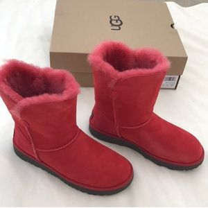 Brand new authentic classic short Cuff red boots